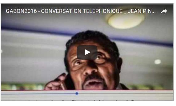 Écoute téléphonique entre Jean Ping et un conseiller d'Allassane Ouattara