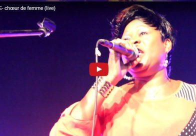 ROVANE- chœur de femme (live au FESPACO)