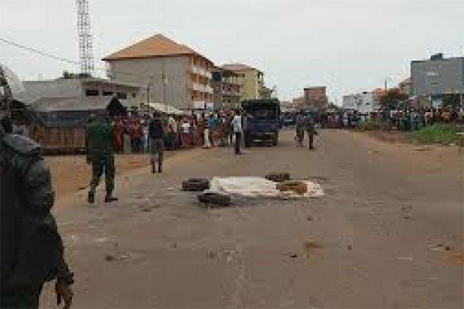 Double drame à Yopougon: Il poignarde à mort sa belle sœur et est brûlé vif