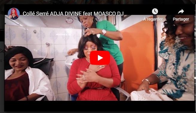 ADJA DIVINE feat MOASCO DJ- Collé Serré