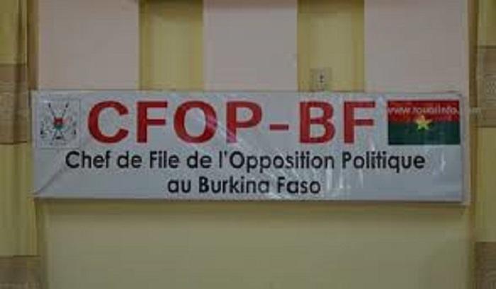 Burkina Faso : La jeunesse de l'opposition dénonce  l'incompétence des ministres de la défense et de la sécurité.