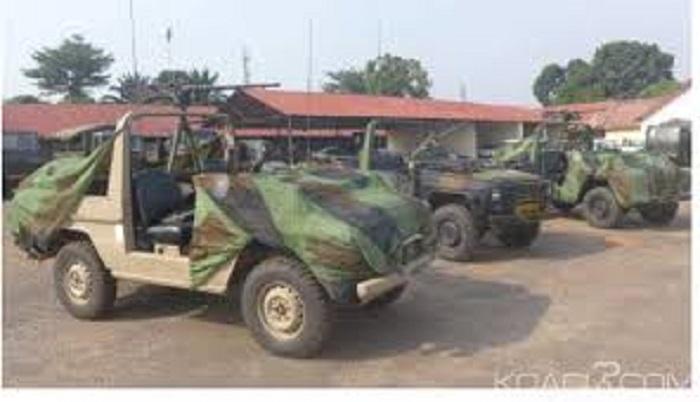 Burkina Faso : du matériel militaire offert à l'armée par les États- Unis.