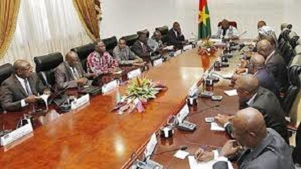 Burkina Faso : Compte rendu du Conseil des ministres du mercredi le 17 octobre 2018
