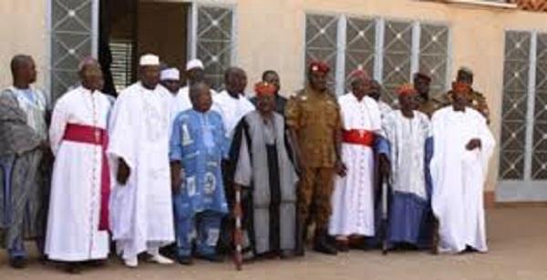 Burkina Faso : journée de prière et de jeûne des autorités coutumières et religieuses prévu pour le samedi 06 octobre 2018.