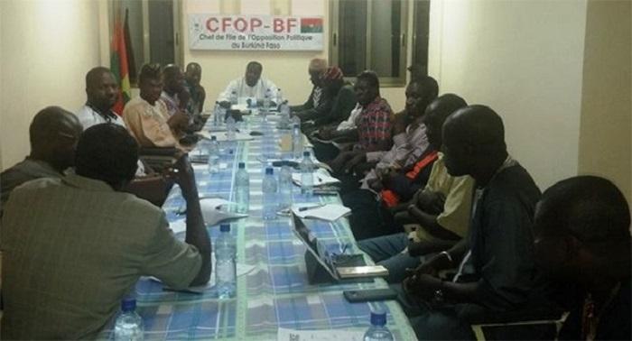 Burkina Faso : compte rendu de la réunion ordinaire du CC /CFOP du 13 novembre 2018.