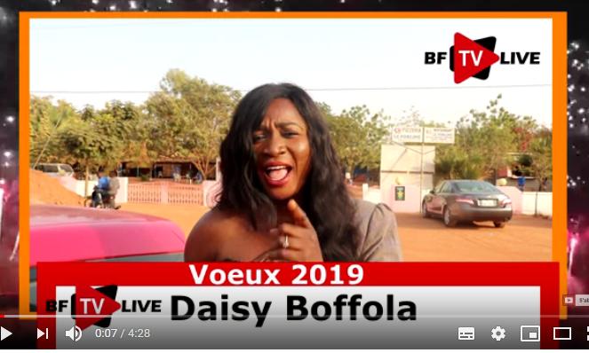 Voeux 2019: Daisy Bofola