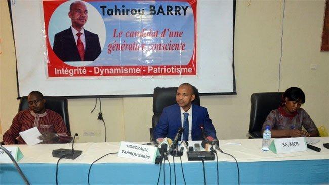Présidentielle 2020 : Tayirou Barry ; « j'ai décidé librement et solennellement de relever ce défi qui m'a été proposé en acceptant de me porter candidat à l'élection présidentielle prochaine de ma patrie»