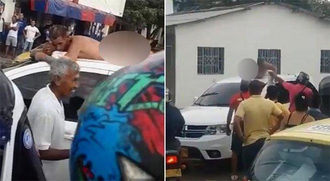 Pour se venger d'avoir été trompée, une femme fait défiler son mari infidèle nu dans la rue
