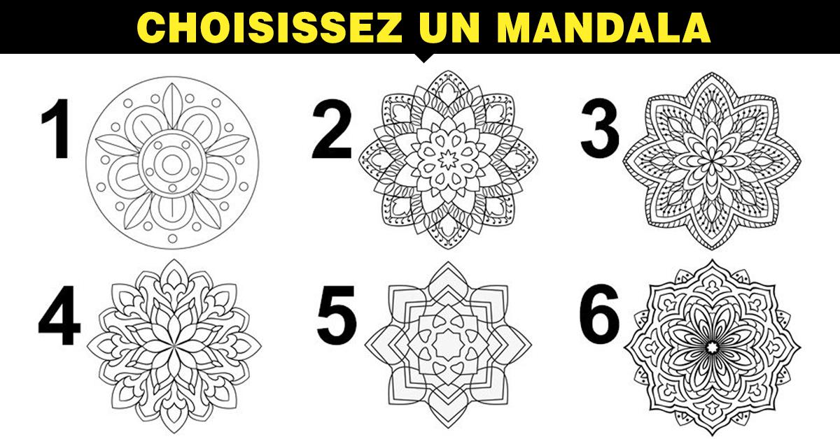 Le mandala que vous préférez indiquerait votre niveau d'empathie et votre type de personnalité