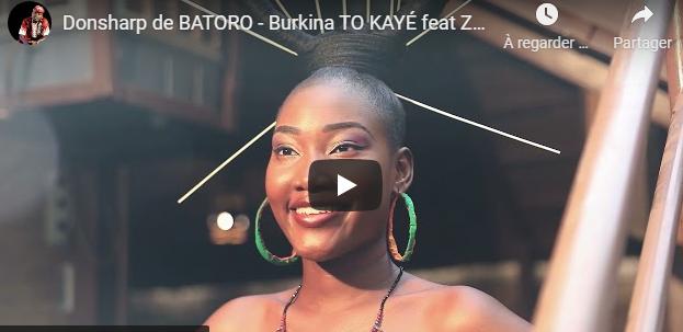 Donsharp de BATORO – Burkina TO KAYÉ feat Zueny Black