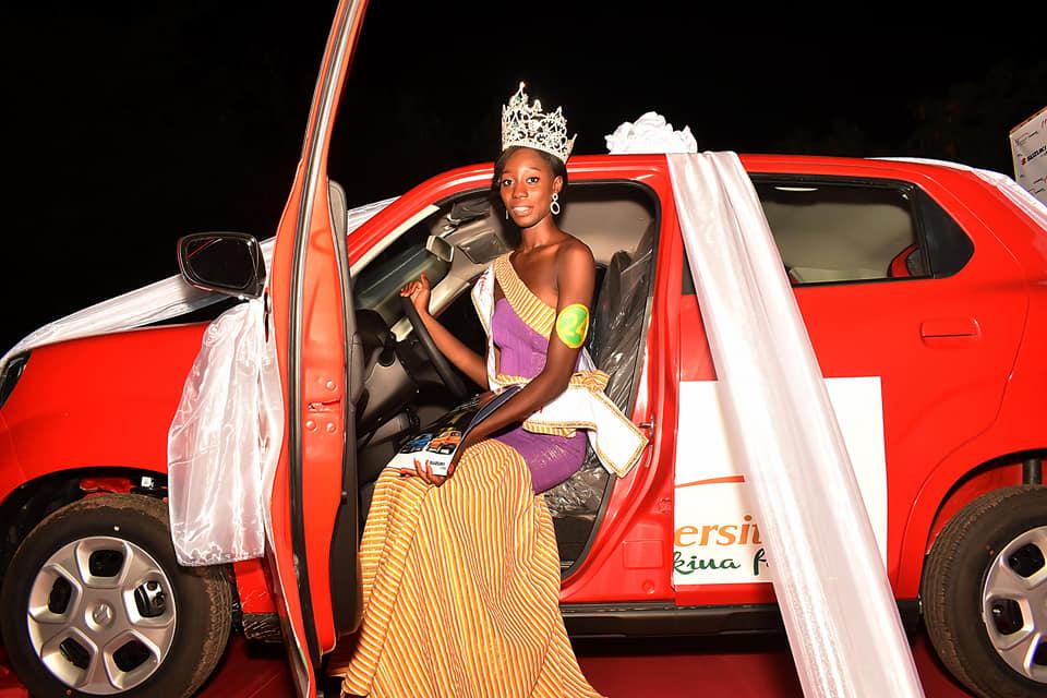 Miss université 2021 : Miss Nikiema Kadidjatou sur la plus haute marche